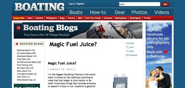 Magic Juice Boating Magazine